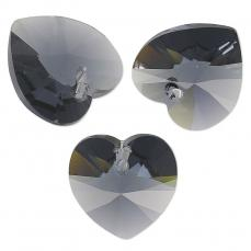 10 mm szív függõ graphite Xilion