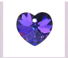 10 mm szív függő heliortope Xilion