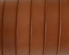 10 mm bőr karkötő alap középbarna 1 cm