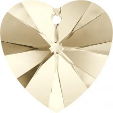 10 mm szív függő light silk Xilion