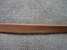 10 mm bőr karkötő alap camel-matt 1 cm