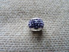 swarovski tanzanit rondell 925