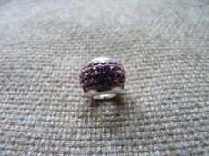 swarovski violet rondell 925
