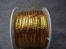 arany lurex szalag 3 mm 2 m
