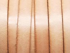 10 mm bőr karkötő alap natúr 1 cm