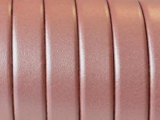 10 mm bőr karkötő alap metal salmon 1 cm