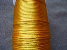 2 mm napsárga selyemzsinór 1 m