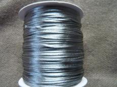 1 mm ezüst selyemzsinór 1 m