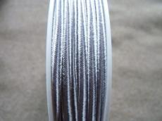 sujtás zsinór ezüstszürke 1 m