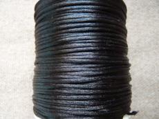 1 mm fekete selyemzsinór 1 m