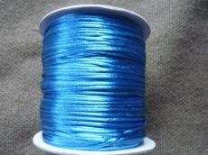 1 mm kék selyemzsinór 1 m