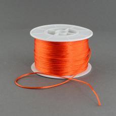 1 mm narancs selyemzsinór 1 m