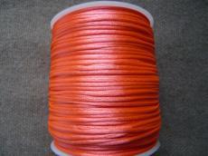 1 mm neon rózsaszín selyemzsinór 1 m