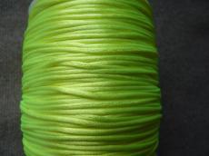 1 mm neon sárga selyemzsinór 1 m