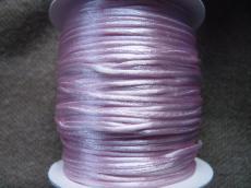1 mm rózsaszín selyemzsinór 1 m