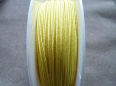 sujtás zsinór sárga 1 m