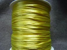 1 mm sárga selyemzsinór 1 m