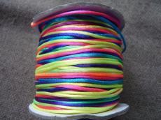 1 mm színváltós selyemzsinór 1 m