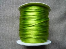 1 mm világos olivin selyemzsinór 1 m