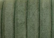 velúrbőr karkötő alap zöld 1 cm