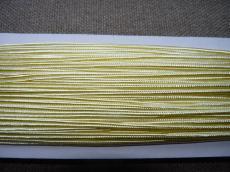 sujtás zsinór világossárga 1 m