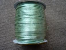 1 mm világoszöld selyemzsinór 1 m