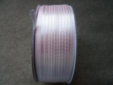 halványrózsaszín szatén szalag 3 mm 2 m