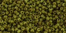 Toho 11/0 almazöld-picasso 10 g