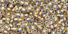 Toho 11/0 arany közepű kristály/262 10 g