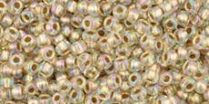 Toho 11/0 arany közepű irizáló kristály/994 10 g