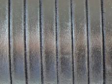 5 mm bőr karkötő alap króm 20 cm