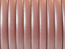 5 mm bőr karkötő alap metál salmon 20 cm