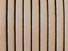 5 mm bőr karkötő alap natúr-fekete 20 cm