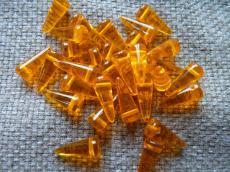tüskegyöngy narancs 10 db