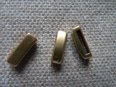 vékony köztes bőrhöz 13 mm antik arany