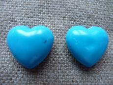 Angyalhívó csengő szív türkizkék másodosztályú