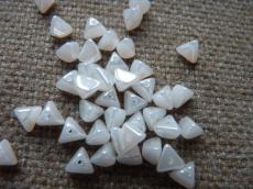 half pinch (buckwheat) fehér-hematit 5 g