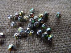 csiszolt gyöngy 4 mm crystal lept full vitrail 50 db