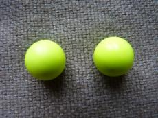 Angyalhívó csengő neon sárga 16 mm