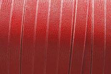 10 mm bőr karkötő alap piros kígyóbőrmintás 1 cm
