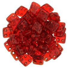 QuadraTile áttetsző piros 20 db