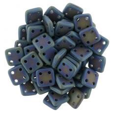 QuadraTile matt írisz kék 20 db