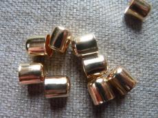 gyöngykupak: világos rose gold 9 mm 10 db