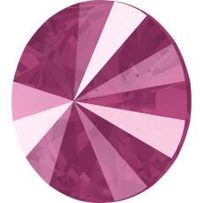 sw rivoli crystal peony pink 14 mm