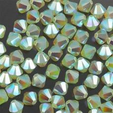 sw bicone 4 mm chysolite opal AB2X Xilion
