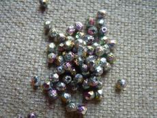 csiszolt gyöngy 4 mm crystal lept full sliperit 50 db