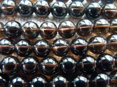 természetes füstkvarc 8 mm