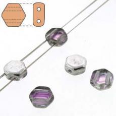 honeycomb gyöngy: silver rainbow 30 db