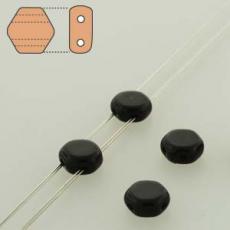honeycomb gyöngy: telt fekete 30 db