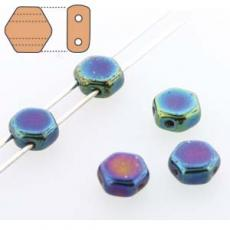 honeycomb gyöngy: kék írisz 30 db